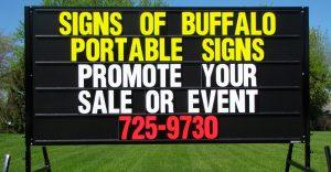 Sign Rental Buffalo NY